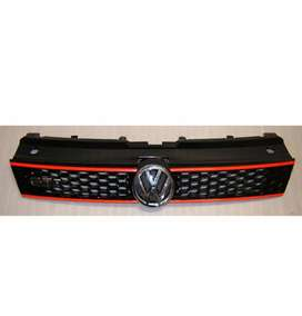 Polo front gti grill with logo