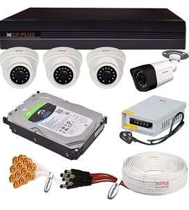 Cp plus and hikvision cctv cameras