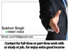 Work part-time or full-time and earn good income.