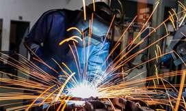 Welder for fabrication works