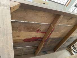 Wooden Single Bed - Very sturdy and good condition