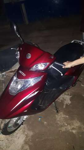 Urgent sale scooty