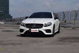 Mercedes Benz E400 AMG Coupe Tahun 2017 Automatic Putih Like New