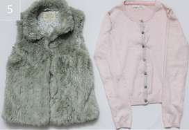 Girls Jacket & Sweeter(Zara, Next)