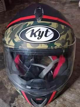Helm kyt dot fullface size M