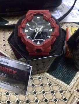 G - Shock Ressit GA -700 Original ciamik. Red edition limited 99%