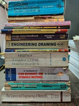 A collection of best classic Mechanical Engineering books
