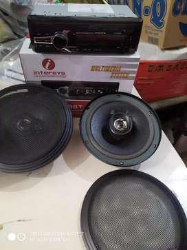 Tape USB radio bluetooth + speaker ( unit aja )