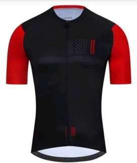 Jersey roadbike Pegasos Black Red