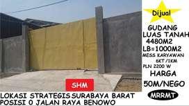 Gudang Nol Raya benowo surabaya