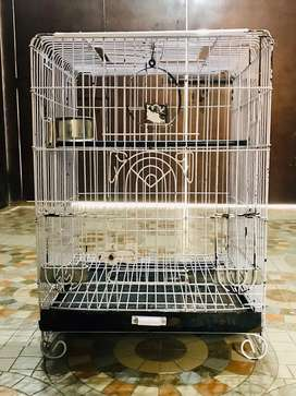 Cage for Raw,Grey,Macaw