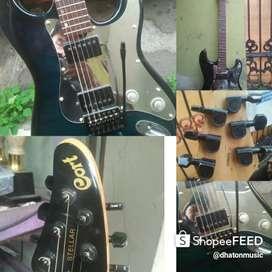 Gitar cort stelar korea 3 benua modified istimewa