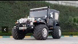 Paink motors Jeep modified company all India