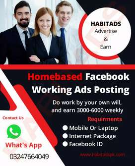 Business advertisement job at home
