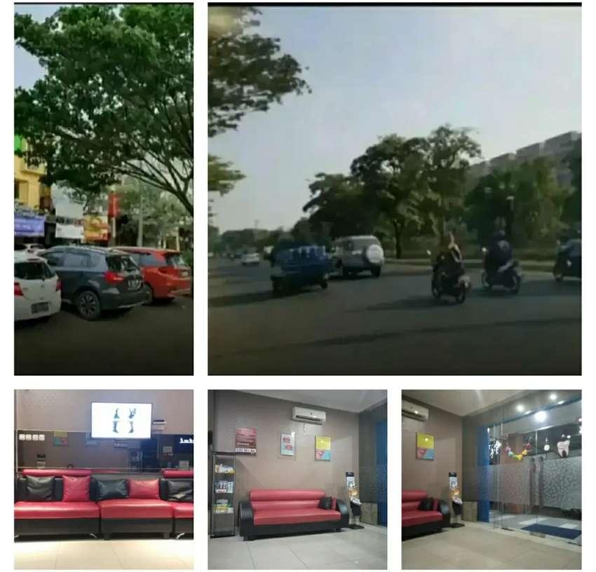 Ruko jalan raya utama menuju pusat sentra bisnis kota harapan indah 0