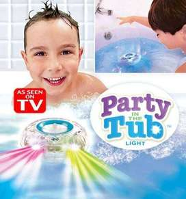 Party in The Tub Lampu Warna Bath Up Kamar Mandi Mainan Anak LED Light