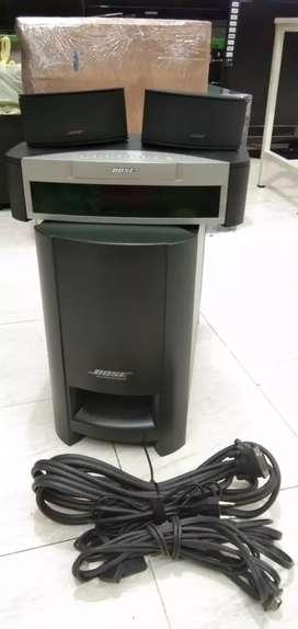 Bose AV 3-2-1 GS Media Center Powered Speaker system 2.1