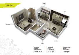 1 BHK only in 17.99 Lac all inclusive