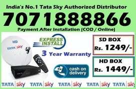 Chittorgarh Tata Sky DTH Distributor-Best Tatasky D2h Dish TV Seller-C