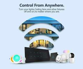 """Control at your finger tips"". Smart Home"