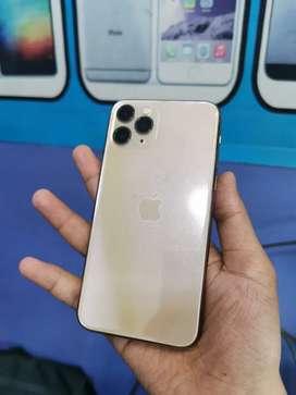 Iphone 11 pro gold 256gb garansi inter