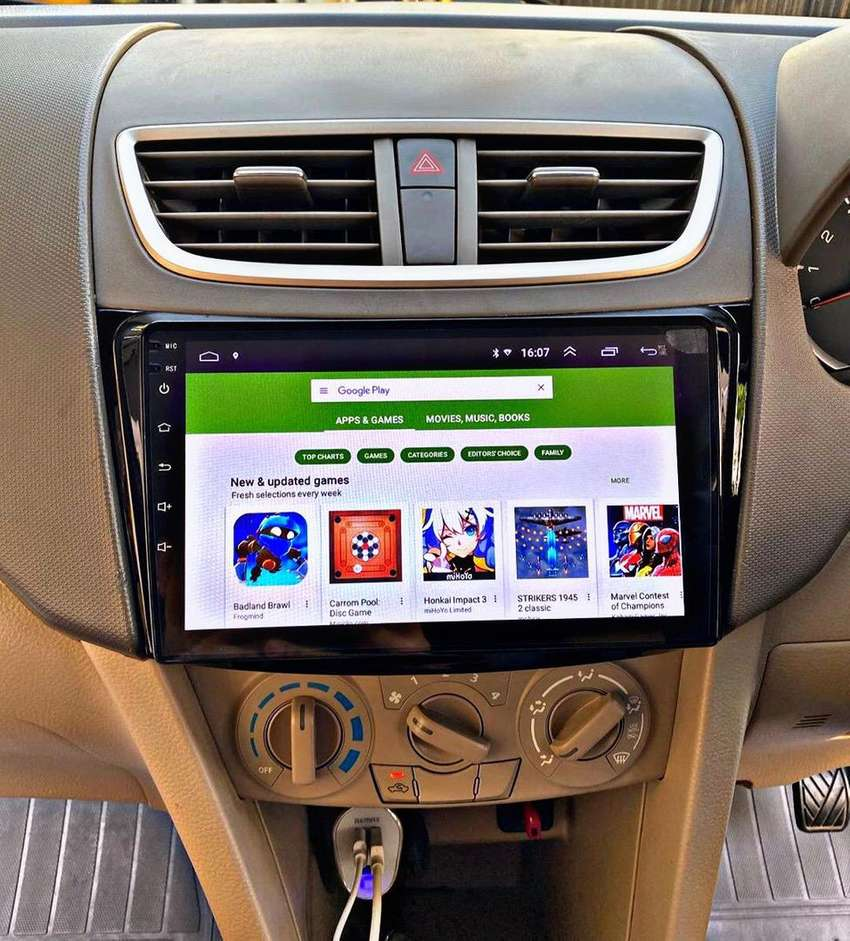 Headunit Tv Android 9 Inch Terbaru [FM Audio] 0