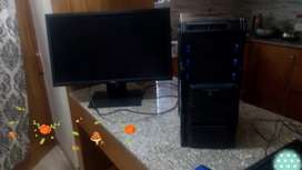 "Core i5 PC, 4gb ram, 320gb HDD, 19"" LED HD screen windows 10 Pro"