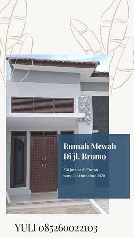 Rumah Baru Unit Desaign Mewah kawasan Jl Bromo Harga Terjangkau