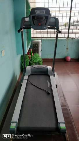 STAY FIT. MOTORIZED TREADMILL T-5 ( Rarely used)