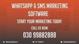 WhatsApp Marketing | SMS Marketing | FB Group Poster | Software