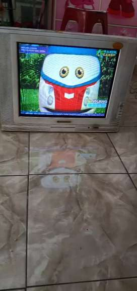 Tv tabung 21 inch merk Changhong slim