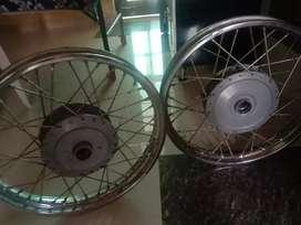 Royal enfield standard Bullet Spoke wheels Rim
