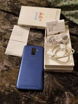 samsung A6+ 4/64..pta approve dualsim..24mo front like new condition