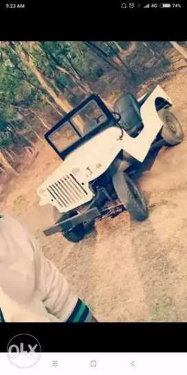 Old model willys Jeep running condition