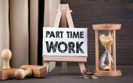Home based part time jobs.
