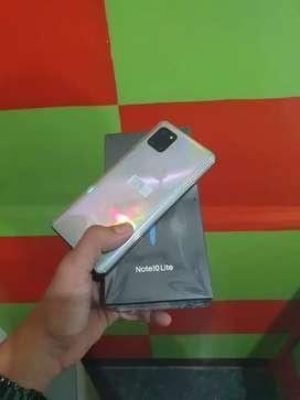 (Belanja Berkah) 2nd Samsung Note 10 Lite 8/128 Likenew