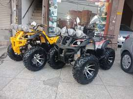 Monster Quad Bike 250cc New Atv Four Wheeler W / 4 Wheel Disk Breaks
