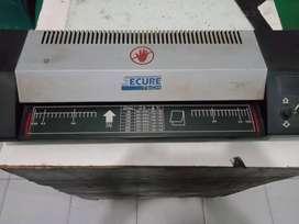 Mesin Press Laminating Secure Tech
