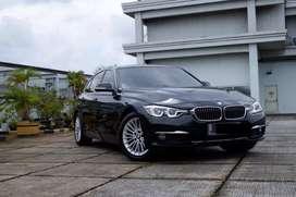 BMW 320i F30 Luxury Pakai 2019 Black On Saddletan Warranty Tgn1 WTC5