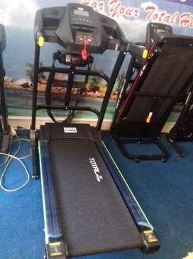 New Treadmill elektrik auto incline tl636