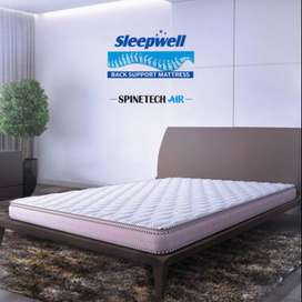 COT with Sleepwell Spinetech Air - Back Support Mattress- 1 year old