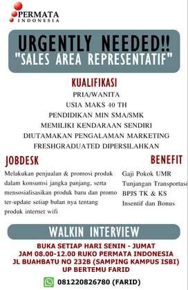 Sales Motorist Area