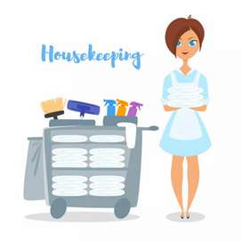 Urgent Requirement Of Housekeeping Staff