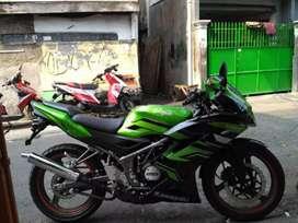 Kawasaki ninja rr new 150 se th 2015/6 km low pjk pjg