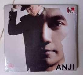 CD ANJI SELF TITLED, kondisi original segel
