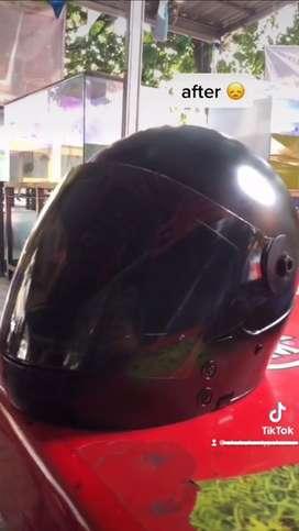 helm custom ada visornya free