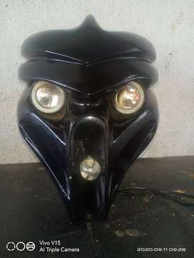 devil mask  for bike price rs.2000