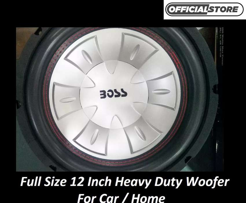 Brand New Woofer Speakers Cash On delivery 0