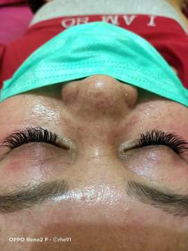 Eyelash extension Home servise