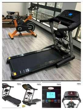 Elektrik treadmill Tiga fungsi baru dan bergaransi